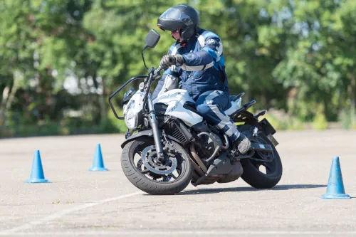 Motorrijbewijspoint Maastricht motor rijtest